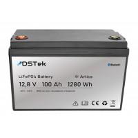 """Batteria LiFePO4 12,8V 100Ah """"ARTICA"""" con Bluetooth e pre-riscaldatore"""