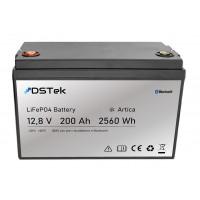 """Batteria LiFePO4 12,8V 200Ah """"ARTICA"""" con Bluetooth e pre-riscaldatore"""